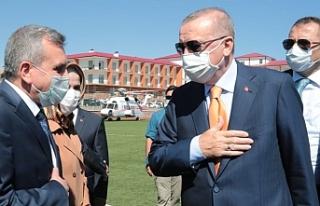 Beyazgül, Erdoğan ile buluştu