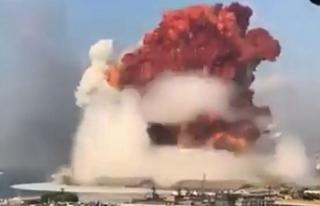 Beyrut'ta inanılmaz patlama