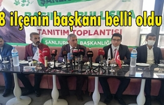 Davutoğlu Urfa'da ki isimleri belirledi