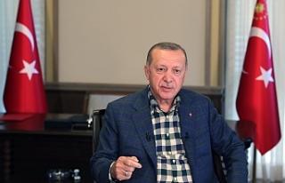 Erdoğan Urfa ile konuştu