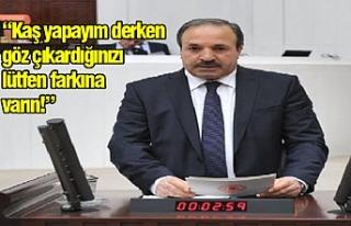 Milletvekili Özcan uyardı!