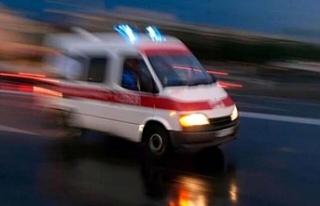 Urfa'da minibüs ile kamyonet çarpıştı...