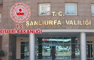 Urfa'ya yeni genelge gönderildi: Yasaklandı…