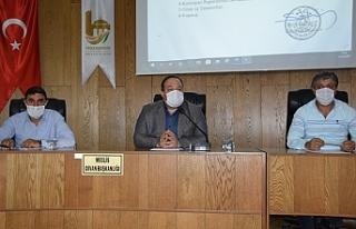 Viranşehir'de ağustos ayı meclis toplantısı...