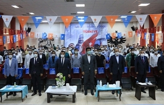 AK Parti Suruç ve Akçakale'de kongre heyecanı...