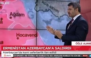 Büyükfırat, Azerbaycan'da yaşanan olayları...