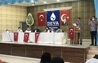 DEVA Partisi Urfa'da ilk seçim heyecanını...