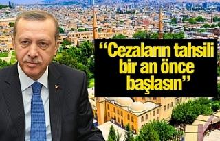 Erdoğan'dan Urfalıları yakından ilgilendiren...