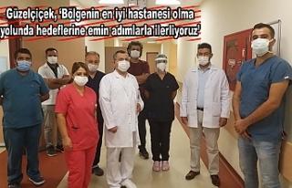 HRÜ Hastanesi O bölümde de çok iddialı