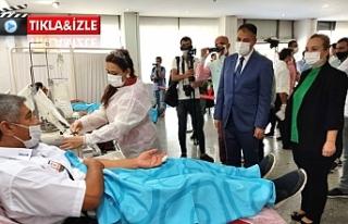 Urfa'da plazma kan verilmeye başlandı