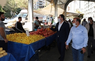 Baydilli pazar esnafını uyardı