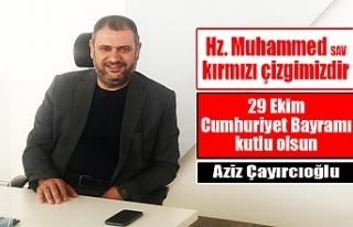 İş Adamı Çayırcıoğlu'ndan kutlama