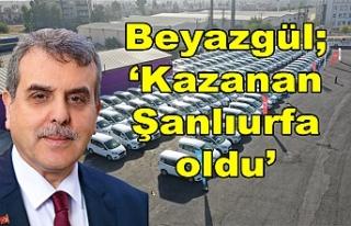 Urfa BŞB'nin araçları yenilendi