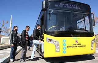 Urfa'da toplu taşımada yeni dönem!
