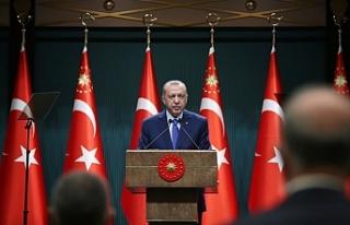 Cumhurbaşkanı Erdoğan'ın masasında ki yeni...