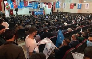 Deva Partisi Ceylanpınar'da kongre heyecanı...