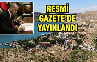 Erdoğan, Halfeti ile ilgili kararı imzaladı...
