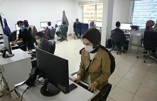 Haliliyeli gençlere bilgisayar kursu...