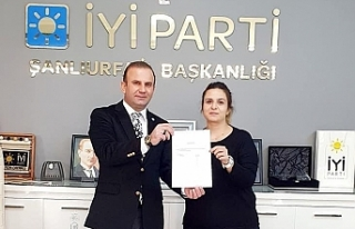 İYİ Parti'nin Urfa Kadın Kolları Başkanı...