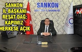 SANKON Şanlıurfa İl Başkanlığı hizmet binası...