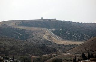 Suriye sınırında ki duvar tamamlandı...