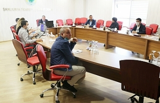 Urfa'da meslek komiteleri toplantısı yapıldı
