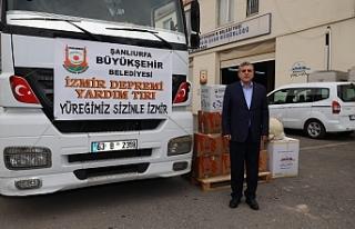 Urfa'dan İzmir'e yardım eli uzandı...