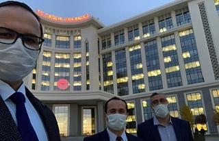 Urfa Şehir Hastanesi Ankara'da masaya yatırıldı