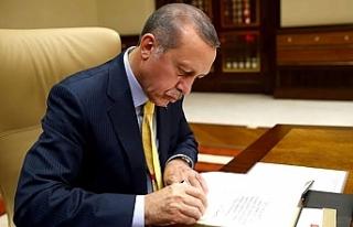 Ve Cumhurbaşkanı Erdoğan imzaladı...