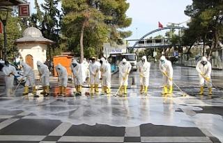 Haliliye Belediyesi hummalı bir çalışma başlattı