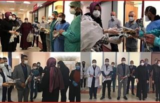 HRÜ'lü sağlık çalışanları moral buldu
