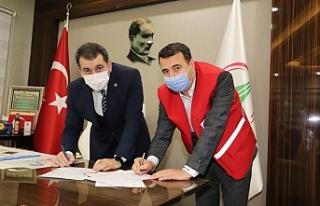 Karaköprü Belediyesi Kızılay'la iş birliği...