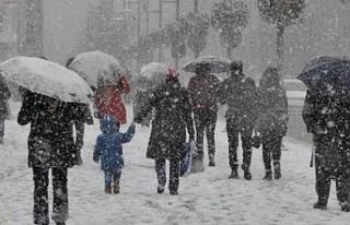 Meteoroloji uyardı! 13 ilde yoğun kar yağışı...