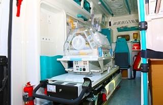 Sağlık Bakanlığı Urfa'ya ambulans takviyesinde...