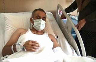 Urfa'da, eli kopan işçinin ameliyatı 7 saat...