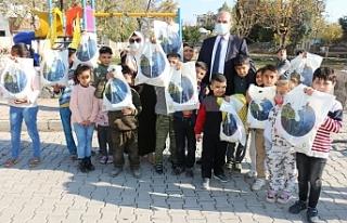 Üsküdar Belediyesi'nden Akçakaleli çocuklara...