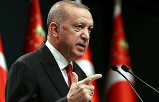 Yasağa az bir süre kala Erdoğan'dan flaş...