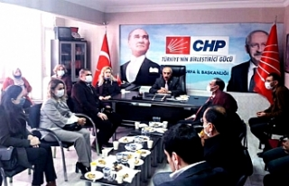 Deva Partisi'nden CHP'ye ziyaret