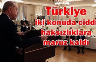 Erdoğan'ın mesajı net oldu