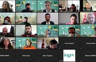İNGEV Urfa'da iş merkezi açılışı gerçekleştirdi