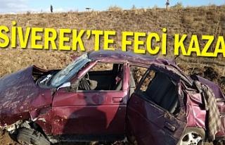 Siverek'te feci kaza! 1 kişi öldü, 2 kişi...