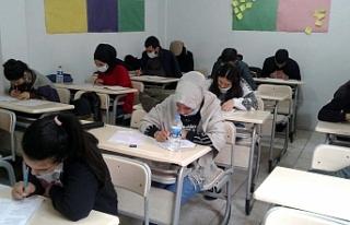 Siverek'te ücretsiz sınava tabi tutuldular