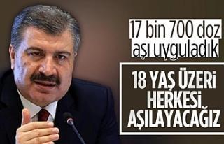Türkiye'de kaç kişiye aşı yapıldı?