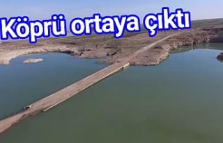 Urfa'da da sular çekildi