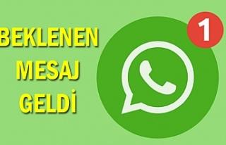 WhatsApp'tan flaş açıklama