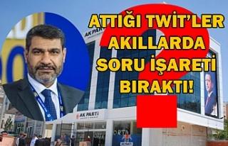 Delioğlu, Ankara'dan twit attı