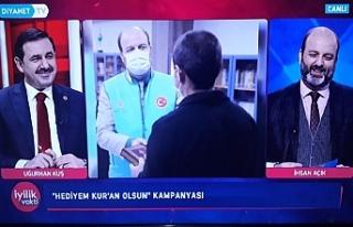 Urfa'da görev yapan iki isim aynı programda...