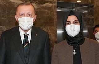 Başkan Çakmak Erdoğan'la Görüştü