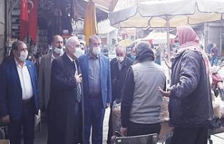 CHP heyeti Urfa'da esnaf turuna çıktı