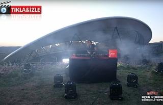 Dünyaca Ünlü DJ Göbeklitepe'yi inletti